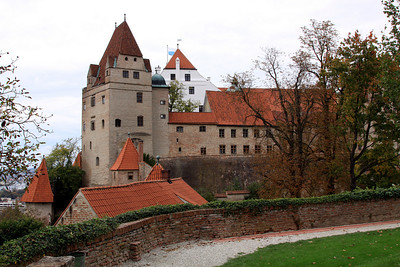 Landshut - Burg Trausnitz (Trausnitz Castle).