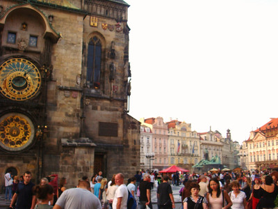 Prague - middle of city