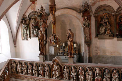 Landshut - Trausnitz Castle - Georgskapelle (St George's Chapel).