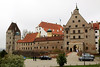 Landshut - Burg Trausnitz (Trausnitz Castle). The castle was founded in 1204 by Duke Ludwig I.