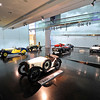 A gallery of cars at the BMW Museum.