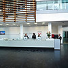 The Welcome Desk at the Audi factory, delivery center and museum.