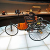 An 1886 Benz Patent Motor Car, the world's first automobile.