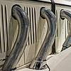 Detail of exhaust headers.