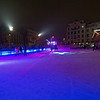 Ice skating rink near Karlsplatz.