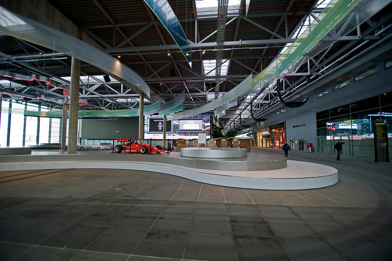 The Ring Boulevard visitor center at the Nürburgring.
