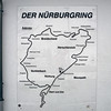 A map of the Nürburgring Nordschleife.