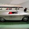 A 1948 Porsche 356 Roadster, the first sports car to bear the Porsche name.