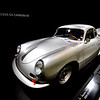 A Porsche 356 B 2000 GS Carrera GT. From 1955 on all vehicles with a racing engine have the word Carrera added to their name.