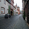 A city street in Bacharach.