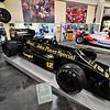 A 1986 Lotus JPS 98 T Formula 1 car.