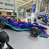 Formula 1 cars.