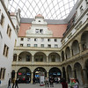 We saw priceless treasures of the Saxon Dukes in this museum in Dresden