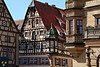 Building near Town square in Rothenburg, Germany.