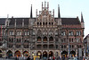Marienplatz, Munich Germany. This building is a Town Hall of sorts for the city.