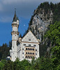 Neuschwanstein Castle, in the foothills of the Bavarian Alps that border Austria.