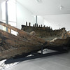 The hull of a 500 year old fishing boat