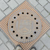 Most German cities have their name and city seal on their manhole covers