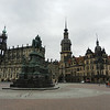 Dresden's unique Baroque architecture was restored after the city was fire bombed in World War II