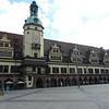 Leipzig's market place