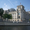 Close up of the Bundestag