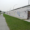 Remnants of the Berlin Wall (a mine field was in the grassy area between the two walls)_