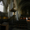 This pulpit was added sometime after Luther preached here