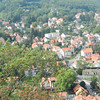 View of Wernigerode from outside the castle