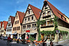 Rothenburg shops, late April 2011.