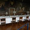 The impressive formal dining room