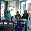The mayor of Husum (population:20,000) hosted us (Americans rarely visit)