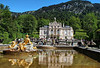 Linderhof castle, another of King Ludwig II's projects.