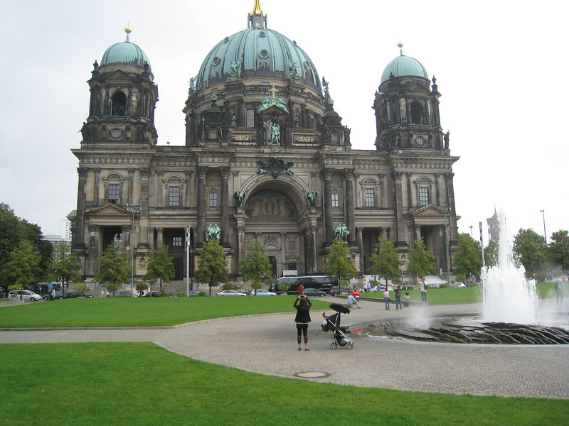 Berlin - This is the Berliner Dom, a baroque Cathedral, which was constructed between 1894 and 1905.