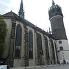 The Castle Church in Wittenberg...