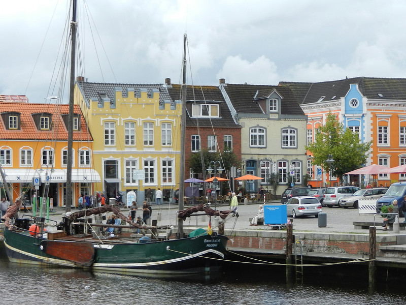 The charming city of Husum