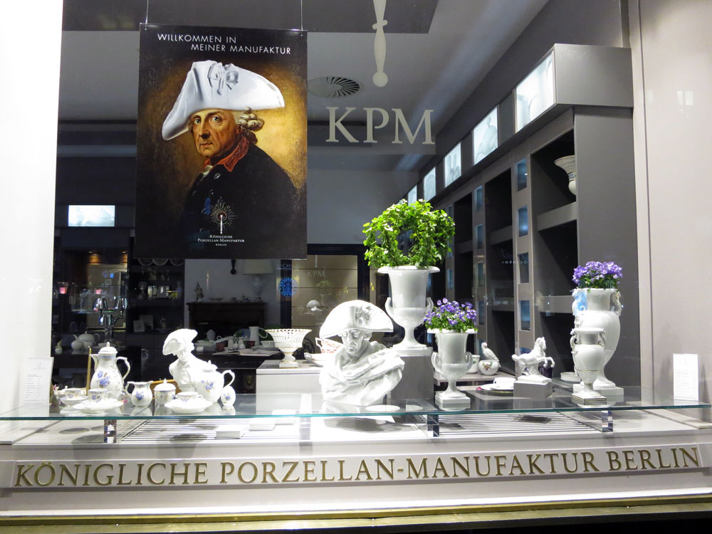 Berlin porcelain shop