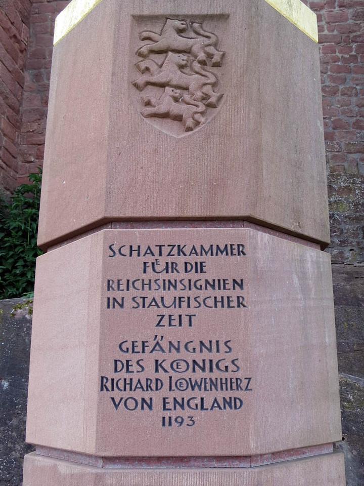 Burg Trifels Richard the Lion Heart