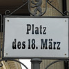 "Platz, German for ""public square."""