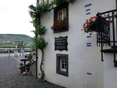 Beilstein Moselle high water marks
