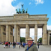 Me at the Brandenburg Gate. (Berlin, July 2012)