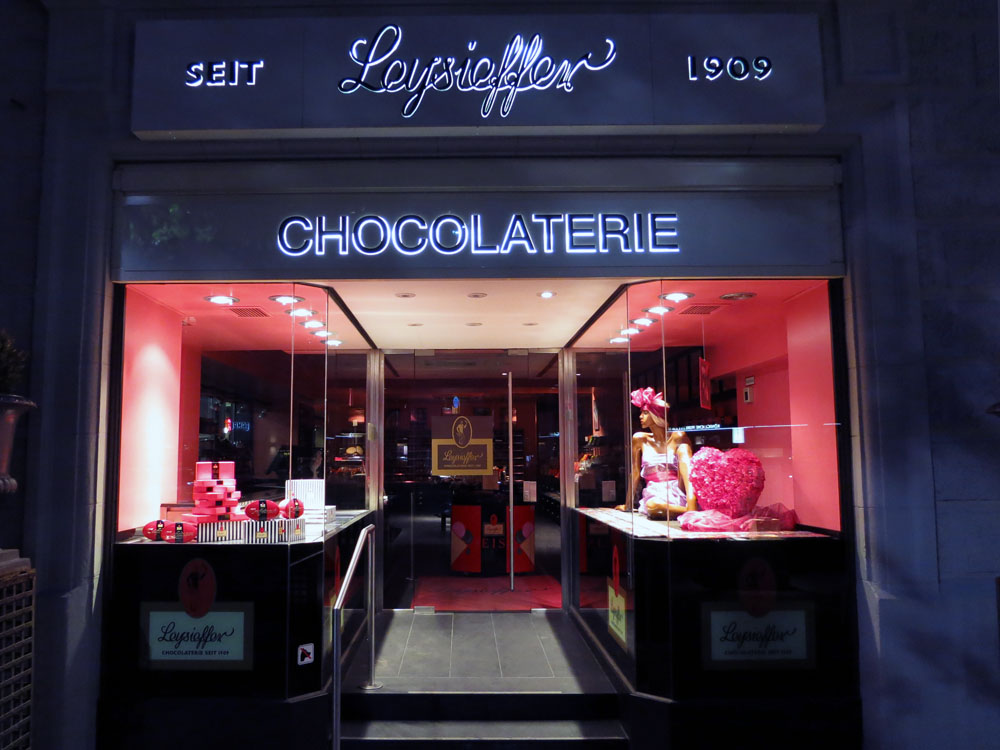 Berlin chocolate shop