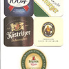 Coasters from the various German biers sampled during the trip. (1)