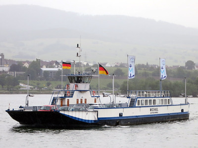 Rhine car ferry
