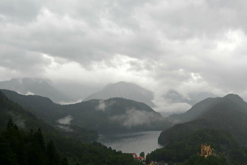 View from the Castle- Hohenschwangau below