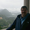 On my 50th Birthday on the balcony of Newschwanstein Castle
