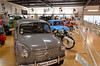 A Fiat 600 and an overview of the small car collection.