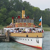 Ferry  out to King Ludwig's castle Herrenchiemsee