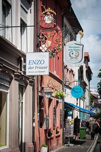 Freiburg Altstadt - Gasthaus Zum Kranz