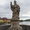 Alte Mainbrücke. St. Kilian statue