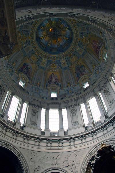 Interior of Berliner Dom Berlin NOT FOR SALE